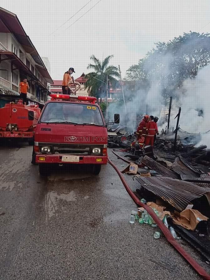 Alat Tempur Dinas Kebakaran Memprihatinkan